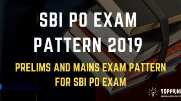 SBI PO Exam Pattern - Prelims and Mains Exam Pattern for SBI PO