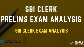 SBI Clerk Prelims Exam Analysis