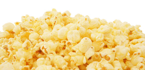 Popcorn - Healthy snack options while studying Nutritious food to eat while studying