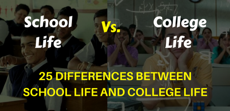 25 Differences between School life and College life
