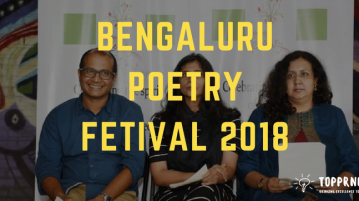 Bengaluru poetry festival 2018 - Experience with Best Poets, Scholars