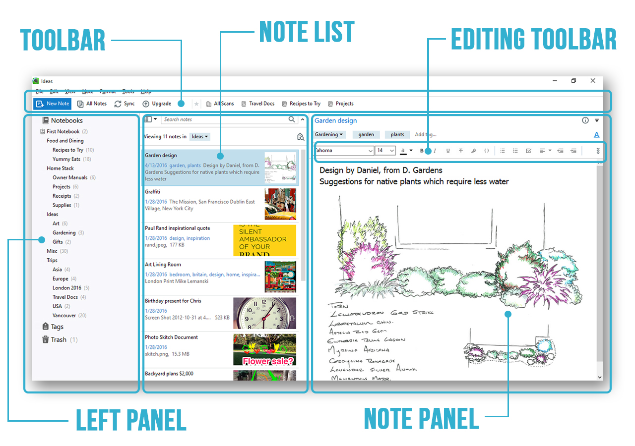 Evernote - Apps for students - Mobile and PC application to make your life easier