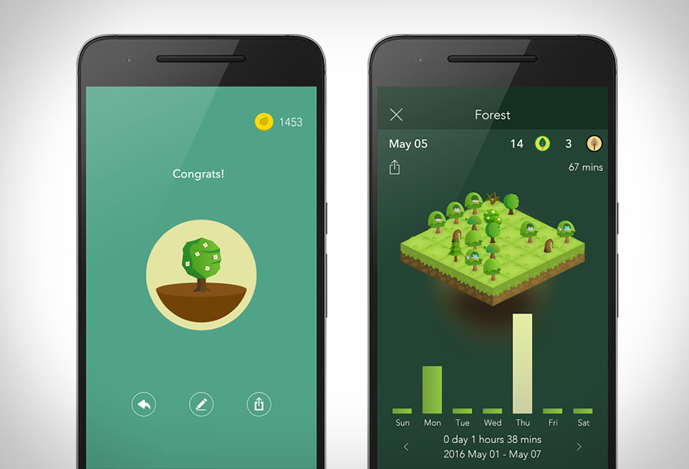 Forest - Apps for students - Mobile and PC application to make your life easier