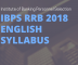 IBPS RRB English Syllabus