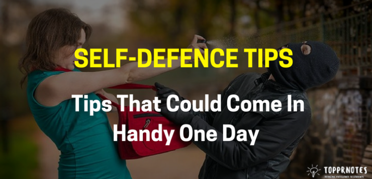 Self-defence tips - Tips that could come in handy one day