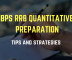 Main IBPS RRB Quant Preparation