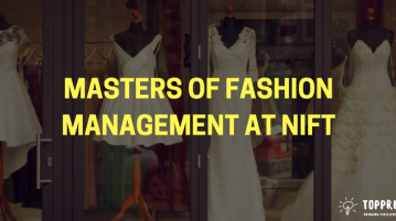 Masters of fashion management at NIFT
