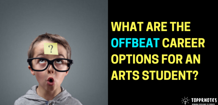 Career options for an arts student