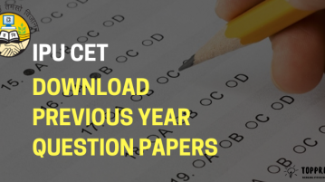 Download IPU CET previous year papers
