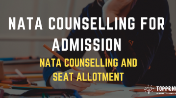 NATA Counselling 2019 - Seat Allotment and Counselling for NATA