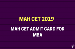 MAH CET Admit Card for MBA