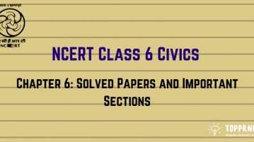 NCERT Solutions for Class 6 Civics Rural Administration