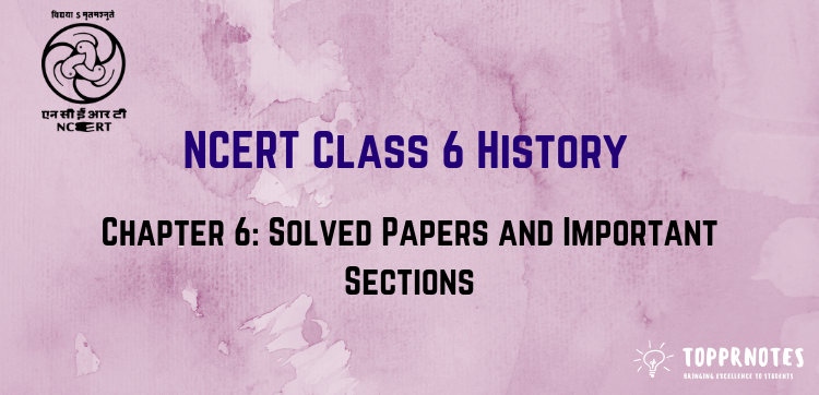 Ncert 6th Class History Book Pdf