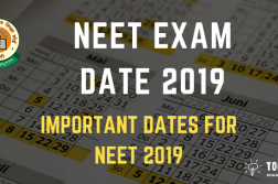 NEET Exam Date - Check Important Dates for NEET UG Entrance Exam