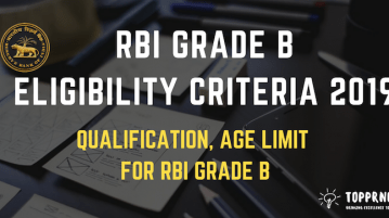 RBI Grade B Eligibility Criteria - Age Limit, Nationality and Qualification for RBI Grade B Officer Exam