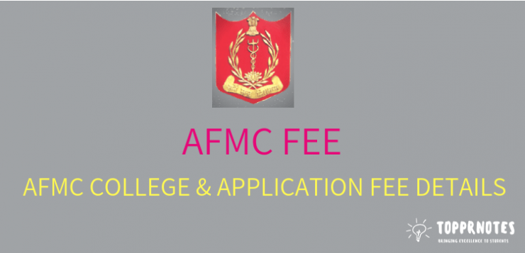 fee structure of AFMC