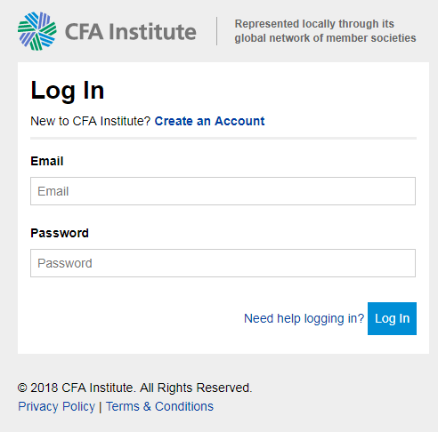 CFA Admit Card - CFA Hall Ticket 2018