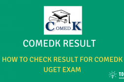 COMEDK UGET Entrance Result