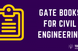GATE Books for Civil Engineering - Recommended books for GATE Preparation in Civil Engineering