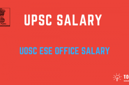 UPSC Salary and Pay Check - Allowance and in hand salary for UPSC IES Exam