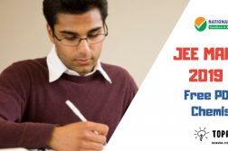 PDF Questions for JEE Chemistry